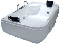 Ванна акриловая Gemy G9085 K R 180x116 (с гидромассажем) -