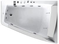 Ванна акриловая Gemy G9056 B R 170x130 (с гидромассажем) -
