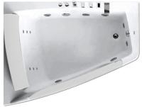 Ванна акриловая Gemy G9056 B L 170x130 (с гидромассажем) -