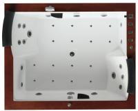 Ванна акриловая Gemy G9052 II K R 186x151 (с гидромассажем) -