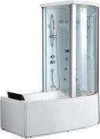 Ванна акриловая Gemy G8040 C R 170x85 (с гидромассажем) -