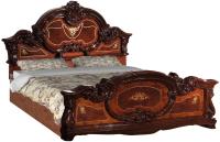 Каркас кровати Интердизайн Памелла 160x200 (орех) -