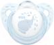 Пустышка NUK Baby Blue Ортодонтической формы / 10736358 (силикон, р.2) -