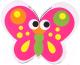 Стиратель для доски Darvish Бабочка магнитная / DV-11229 -