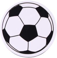 Стиратель для доски Darvish Мяч футбольный магнитный / DV-11227 -