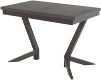 Обеденный стол AMC Classic / 2(1100)23 (коричневый/баменда венге) -