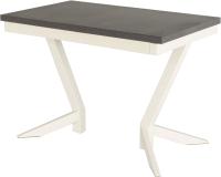 Обеденный стол AMC Classic / 2(1100)33 (слоновая кость/баменда венге) -
