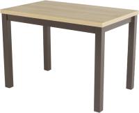 Обеденный стол AMC Classic / 3(1100)21 (коричневый/дуб небраска) -