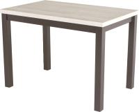 Обеденный стол AMC Classic / 3(1100)22 (коричневый/сосна кастина) -