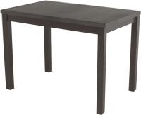 Обеденный стол AMC Classic / 3(1100)23 (коричневый/баменда венге) -