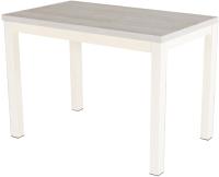 Обеденный стол AMC Classic / 3(1100)32 (слоновая кость/сосна кастина) -