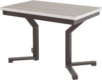 Обеденный стол AMC Premium / 1С(1100)22 (коричневый/сосна кастина) -