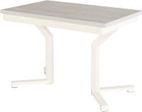 Обеденный стол AMC Premium / 1С(1100)32 (слоновая кость/сосна кастина) -
