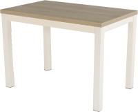 Обеденный стол AMC Premium / 3С(1100)31 (слоновая кость/дуб небраска) -