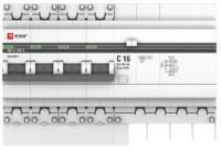 Дифференциальный автомат EKF PROxima АД-4 25А/30мА / DA4-25-30-pro -
