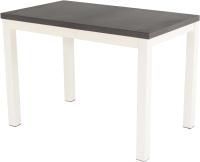 Обеденный стол AMC Premium / 3С(1100)33 (слоновая кость/баменда венге) -