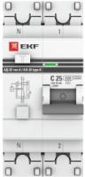 Дифференциальный автомат EKF PROxima АД-32 1P+N 63А/30мА / DA32-63-30-pro -