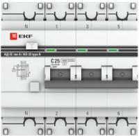 Дифференциальный автомат EKF PROxima АД-32 3P+N 16А/10мА / DA32-16-10-4P-a-pro -