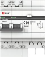 Дифференциальный автомат EKF АД-2 50А/30мА / DA2-50-30 -