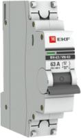 Выключатель нагрузки EKF PROxima ВН-63 1п 25А / SL63-1-25-pro -