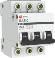 Выключатель нагрузки EKF Basic 3P 40А ВН-29 / SL29-3-40-bas -