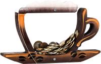 Копилка Kopilki Кофейная чашка / КЕ-02 (коричневый) -