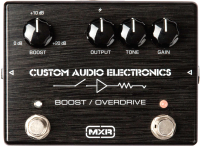 Педаль электрогитарная MXR MC402 CAE Boost Overdrive -