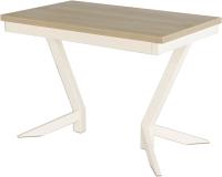 Обеденный стол AMC Premium / 2С(1100)31 (слоновая кость/дуб небраска) -