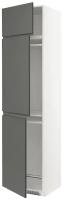 Шкаф-пенал под холодильник Ikea Метод 693.105.09 -