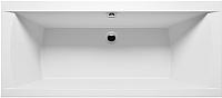 Ванна акриловая Riho Julia 170 / BA53005 (с ножками и экраном) -