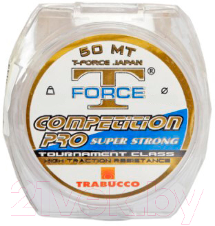 Леска монофильная Trabucco T-Force Competition Pro Super Strong 0.30мм 25м / 052-65-300