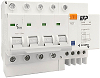 Дифференциальный автомат ETP АД-4 4P 63А/100мА (С) / 18084 -