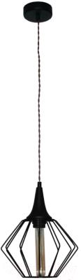 Потолочный светильник Элетех Форма 211 НСБ 01-60-142 / 1005404241 (черный)