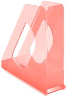 Лоток для бумаг Esselte Colour'Ice / 626278 (прозрачный/персиковый) -