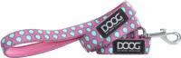 Поводок DOOG Luna / LEADPTD-S (розовый с каплями) -