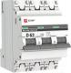 Выключатель автоматический EKF PROxima ВА 47-63 3P 63А (D) 4.5kA / mcb4763-3-63D-pro -
