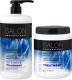 Набор косметики для волос Salon Professional Spa Care интенсивное восстановление шампунь 1л+маска 1л -