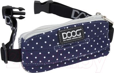 Сумка для дрессуры DOOG Stella Mini / Mini10 (синий в белый горох)