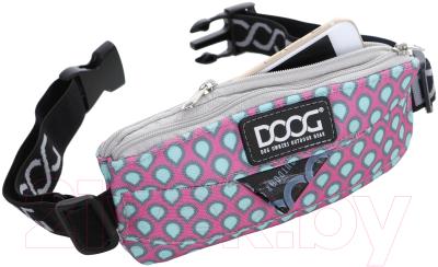 Сумка для дрессуры DOOG Luna Mini / Mini11 (розовый с каплями)