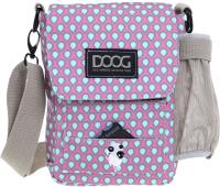 Сумка для дрессуры DOOG SB06 (розовый с каплями) -