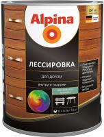 Защитно-декоративный состав Alpina Лессировка (10л, белый) -
