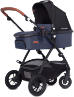 Детская универсальная коляска EasyGo Optimo Air 2 в 1 (Denim) -