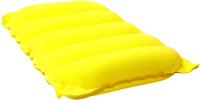 Надувная подушка Bestway Flocked Air Travel Pillow / 67485 (желтый) -