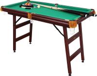 Бильярдный стол FORTUNA Пул 4фт / 04039 (с комплектом аксессуаров) -