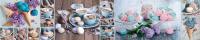 Скиналь Оптион Душевная кухня. Десерт 54 (стекло, 1400x600x3) -