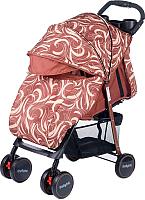 Детская прогулочная коляска Babyhit Simpy (Brown Bubbles) -
