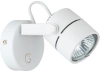 Спот Arte Lamp Lente Bianco A1310AP-1WH -