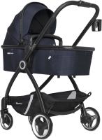 Детская универсальная коляска Euro-Cart Crox 3 в 1 (Cosmic Blue) -