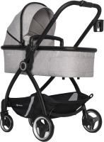 Детская универсальная коляска Euro-Cart Crox 3 в 1 (Pearl) -