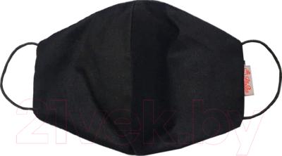 Повязка для лица Mask 1 Овальная (черный)